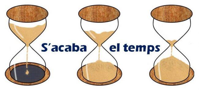 S'acaba el temps